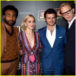 Alden Ehrenreich, Emilia Clarke, & Donald Glover Team Up for 'Solo: A Star Wars Story' Screening in NYC
