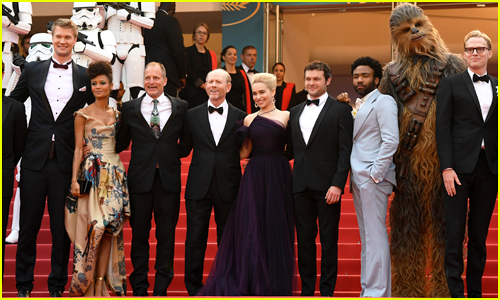 Alden Ehrenreich, Emilia Clarke, Donald Glover & More Premiere 'Solo: A Star Wars Story' at Cannes Film Festival!