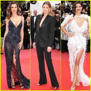 Alessandra Ambrosio, Doutzen Kroes & More Models Hit Carpet at 'Solo: A Star Wars Story' Cannes Festival Premiere!