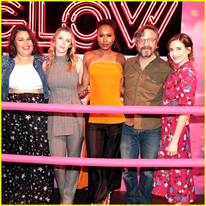 Alison Brie & 'GLOW' Costars Step Out to Promote Season 2!