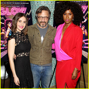 Alison Brie & 'GLOW' Stars Step Out for NYC Screening!
