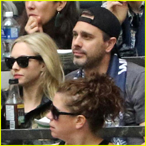 Amanda Seyfried & Husband Thomas Sadoski Check Out Soccer Game in Vancouver!