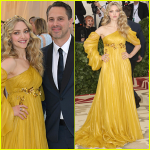 Amanda Seyfried & Husband Thomas Sadoski Make One Chic Couple at Met Gala 2018