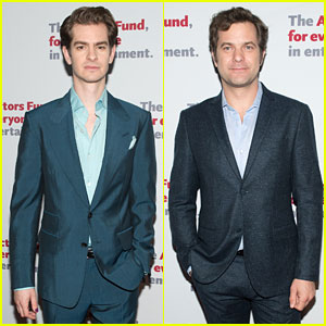 Andrew Garfield & Joshua Jackson Suit Up for Actors Fund Gala 2018