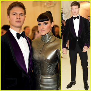 Ansel Elgort Reunites with Shailene Woodley at Met Gala 2018!