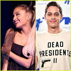 Ariana Grande & Pete Davidson Get Flirty on Instagram!