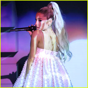 Ariana Grande Performs 'No Tears Left to Cry' Live on TV for First Time! (Video)