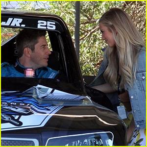 The Bachelor's Arie Luyendyk Jr. Gets Support from Fiancee Lauren Burnham at Race in Australia
