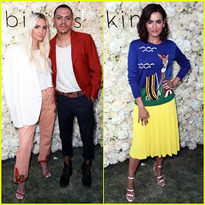 Ashlee Simpson & Evan Ross Couple Up at Gigi C Bikinis Pop-Up Launch!