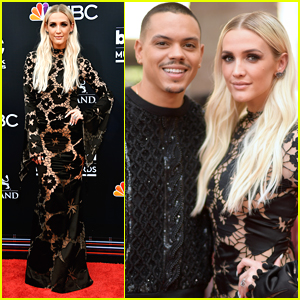 Ashlee Simpson & Evan Ross Make it Date Night at BBMAs 2018!