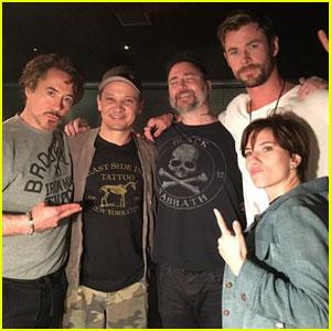 Robert Downey Jr., Scarlett Johansson & the Original 'Avengers' Got Matching Tattoos!