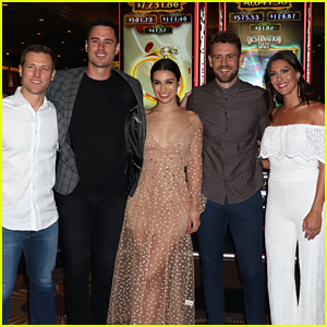 Becca Kufrin Joins 'The Bachelor' Alums at Slot Machine Unveiling in Las Vegas!