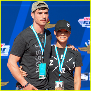 Big Brother's Cody Nickson & Jessica Graf Share Kiss at The Indy 500!