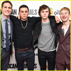 Blake Jenner & Evan Peters Premiere 'American Animals' in NY!