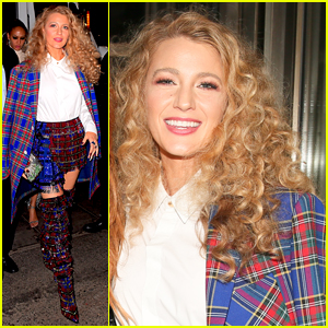 Blake Lively Shows Off Her Curly Hair for Met Gala 2018 After Party!
