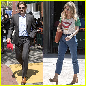 Bradley Cooper & Sienna Miller Meet Up for Lunch in NYC