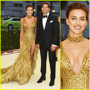Bradley Cooper & Irina Shayk Hold Hands in Rare Red Carpet Appearance at Met Gala 2018!
