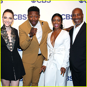 Brandon Micheal Hall Brings 'God Friended Me' To CBS Upfronts 2018!