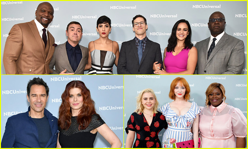 'Brooklyn Nine-Nine' Cast Celebrate Sixth Season Revival at NBC Upfronts 2018!
