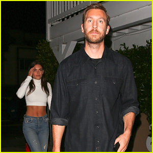 Calvin Harris & Girlfriend Aarika Wolf Step Out for Date Night in Santa Monica!