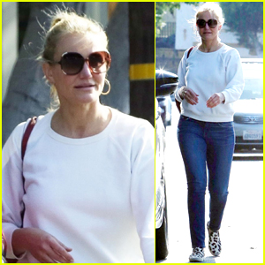 Cameron Diaz Keeps it Casual for Afternoon Shopping Trip