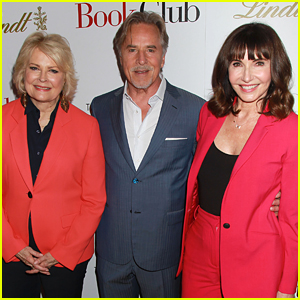 Candice Bergen, Don Johnson, & Mary Steenburgen Attend 'Book Club' Screening in NYC
