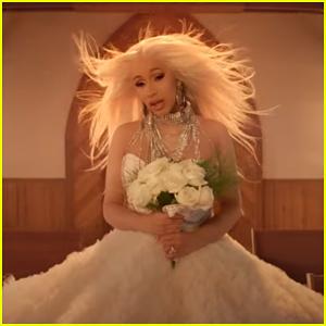 Cardi B Is Heartbroken Bride In 'Be Careful' Music Video!