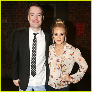Carrie Underwood Supports Fellow 'Idol' Winner David Cook on Broadway!
