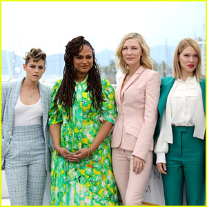 Cate Blanchett, Kristen Stewart, Ava Duvernay & Lea Seydoux Attend Cannes Jury Photo Call