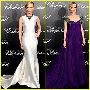 Cate Blanchett & Diane Kruger Are So Glamorous at the Trophee Chopard Event in Cannes
