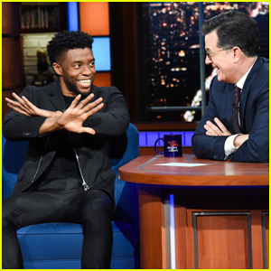 Chadwick Boseman Explains Funny 'Wakanda Forever' Memes on 'The Late Show'