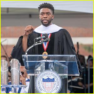 Chadwick Boseman Delivers Graduation Speech at Howard University!