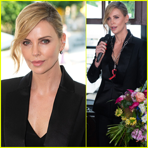 Charlize Theron is Honored with Crystal of Hope Award for Humanitarian Work