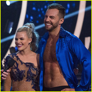 Chris Mazdzer Goes Shirtless in First 'DWTS' Performance (Video)