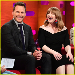 Chris Pratt & Bryce Dallas Howard Are 'Certain' They Swam in Pee On 'Jurassic World: Fallen Kingdom' Set