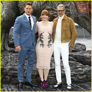Chris Pratt Praises His 'Jurassic World: Fallen Kingdom' Co-star Bryce Dallas Howard!