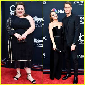 Chrissy Metz & Justin Hartley Arrive in Style for Billboard Music Awards 2018