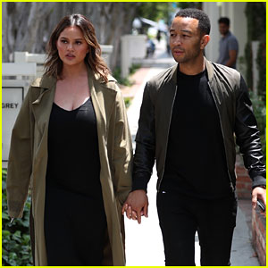 Chrissy Teigen Goes Low-Key While Shopping with John Legend