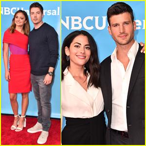 Christine Evangelista & Josh Henderson Bring 'The Arrangement' to NBC Press Day!