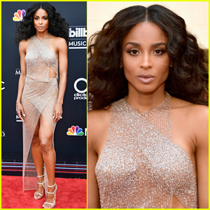 Ciara Looks So Fierce on BBMAs 2018 Red Carpet!