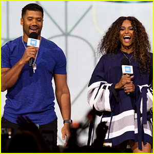 Ciara & Russell Wilson Team Up for a Good Cause at WE Day
