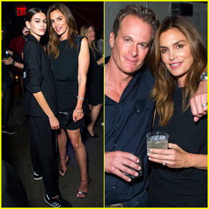 Cindy Crawford & Kaia Gerber Enjoy a Family Night Out at Harry Josh's Pre-Met Gala Party!