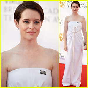 Claire Foy Gets Glam on the Red Carpet at BAFTA Television Awards 2018!