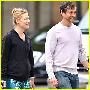 Claire Danes Shows Off Tiny Baby Bump While Out with Hugh Dancy!