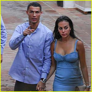 Cristiano Ronaldo & Georgina Rodriguez Have a Date Night in Marbella
