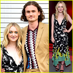 Dakota Fanning Walks First Red Carpet with Boyfriend Henry Frye!