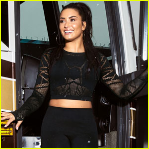 Demi Lovato Launches 'Fabletics' Summer Collection!