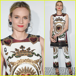 Diane Kruger is Queen of Hearts at Dior Dinner in Cannes!