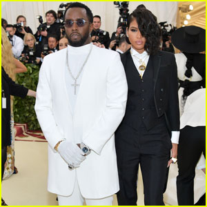 Diddy & Cassie Are A Chic Couple at Met Gala 2018!