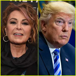 Donald Trump Tweets About Roseanne Barr After Show's Cancellation